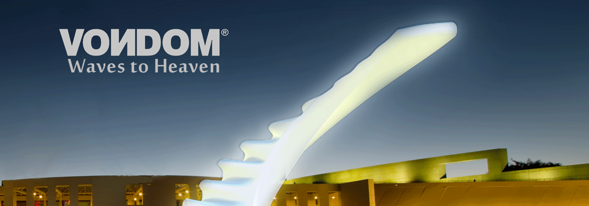Waves to heaven – a lamp for Vondom