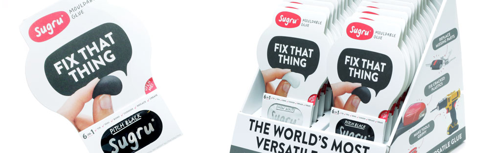 Sugru – mouldable glue, London, UK.
